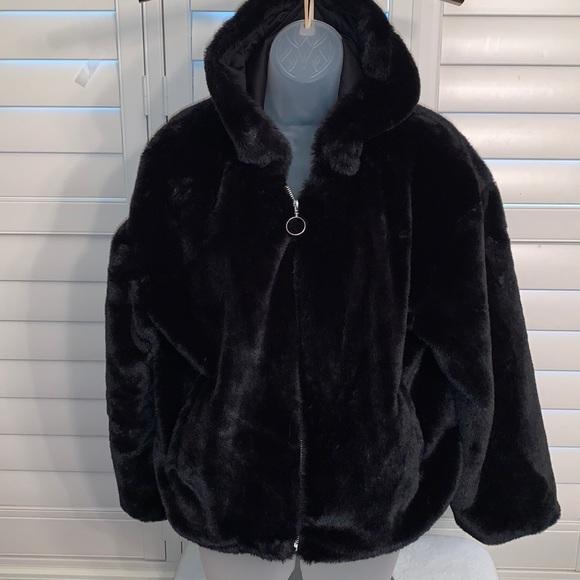 Forever 21  hooded for black jacket S